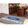 FANMATS Ford Racing Rug 5'x8' -  Gray