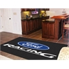 FANMATS Ford Racing Rug 5'x8' - Black