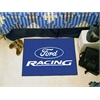 "FANMATS Ford Racing Starter Rug 19""x30"" - Blue"