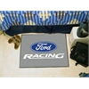 "FANMATS Ford Racing Starter Rug 19""x30"" -  Gray"