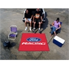 FANMATS Ford Racing Tailgater Rug 5'x6' - Red