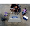 FANMATS Ford Racing Tailgater Rug 5'x6' -  Gray