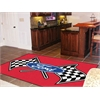 FANMATS Ford Flags Rug 5'x8' - Red