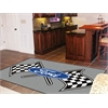 FANMATS Ford Flags Rug 5'x8' - Gray