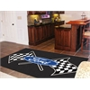 FANMATS Ford Flags Rug 5'x8' - Black