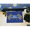 "FANMATS Ford Flags Starter Rug 19""x30"" - Blue"