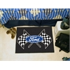 "FANMATS Ford Flags Starter Rug 19""x30"" - Black"