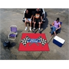 FANMATS Ford Flags Tailgater Rug 5'x6' - Red