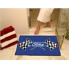 "FANMATS Ford Flags All-Star Mat 33.75""x42.5"" - Blue"