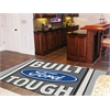 FANMATS Built Ford Tough Rug 5'x8' Gray