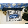 "FANMATS Built Ford Tough Starter Rug 19""x30"" Gray"