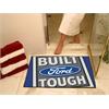 """FANMATS Built Ford Tough All-Star Mat 33.75""""x42.5"""" - Blue"""