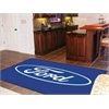 FANMATS Ford Oval  Rug 5'x8' - Blue