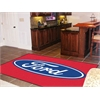 FANMATS Ford Oval  Rug 5'x8' - Red