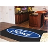 FANMATS Ford Oval  Rug 5'x8' - Black
