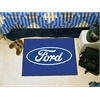 "FANMATS Ford Oval  Starter Rug 19""x30"" - Blue"