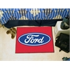 """FANMATS Ford Oval  Starter Rug 19""""x30"""" - Red"""
