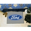 "FANMATS Ford Oval  Starter Rug 19""x30"" - Gray"