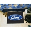 "FANMATS Ford Oval  Starter Rug 19""x30"" - Black"