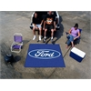 FANMATS Ford Oval  Tailgater Rug 5'x6' - Blue