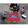 FANMATS Ford Oval  Tailgater Rug 5'x6' - Red