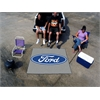 FANMATS Ford Oval  Tailgater Rug 5'x6' - Gray