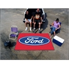 FANMATS Ford Oval  Ulti-Mat 5'x8' - Red