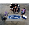 FANMATS Ford Oval  Ulti-Mat 5'x8' - Gray