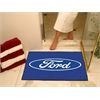 "FANMATS Ford Oval  All-Star Mat 33.75""x42.5"" - Blue"