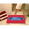"FANMATS Ford Oval  All-Star Mat 33.75""x42.5"" - Red"