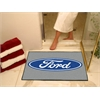 "FANMATS Ford Oval  All-Star Mat 33.75""x42.5"" - Gray"