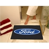 "FANMATS Ford Oval  All-Star Mat 33.75""x42.5"" - Black"
