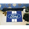 "FANMATS Ford Oval with Stripes Starter Rug 19""x30"" - Blue"