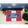 "FANMATS Ford Oval with Stripes Starter Rug 19""x30"" - Red"