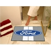 "FANMATS Ford Oval with Stripes All-Star Mat 33.75""x42.5"" - Gray"
