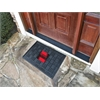 FANMATS Boss 302  Medallion Door Mat - Red