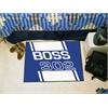 """FANMATS Boss 302  Starter Rug 19""""x30"""" - Blue"""