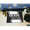 "FANMATS Boss 302  Starter Rug 19""x30"" - Black"