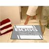 "FANMATS Boss 302  All-Star Mat 33.75""x42.5"" -  Gray"