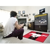 FANMATS Mustang Horse  Rug 4'x6' - Red