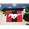 "FANMATS Mustang Horse  Starter Rug 19""x30"" - Red"