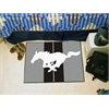 "FANMATS Mustang Horse  Starter Rug 19""x30"" - Gray"