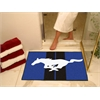 "FANMATS Mustang Horse  All-Star Mat 33.75""x42.5"" - Blue"