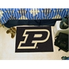 "FANMATS Purdue 'P' Starter Rug 19""x30"""