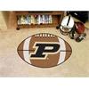 "FANMATS Purdue 'P' Football Rug 20.5""x32.5"""