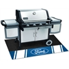 "FANMATS Ford Oval with Stripes Grill Mat 26""x42"""