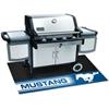 """FANMATS Mustang Horse Grill Mat 26""""x42"""""""
