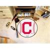 """FANMATS MLB - Cleveland Indians """"Block-C"""" Baseball Mat 27"""" diameter"""
