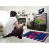 "FANMATS MLB - Cleveland Indians ""Block-C"" Rug 4'x6'"
