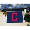 "FANMATS MLB - Cleveland Indians ""Block-C"" Starter Rug 19""x30"""